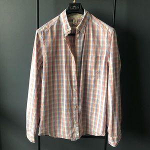 H&M LOGG button-down shirt